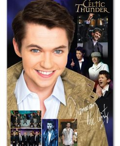 CELTIC THUNDER DAMIAN MC GINTY POSTER
