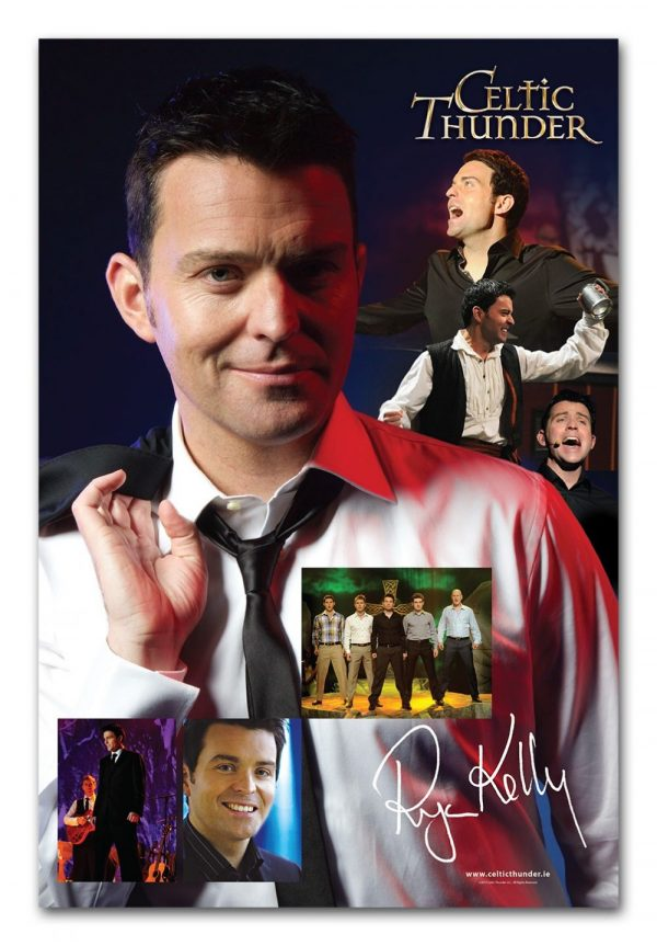 CELTIC THUNDER RYAN KELLY POSTER