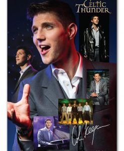 CELTIC THUNDER COLM KEEGAN POSTER