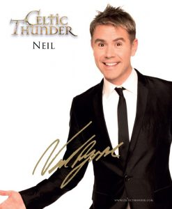CELTIC THUNDER NEIL BYRNE PHOTO CARD