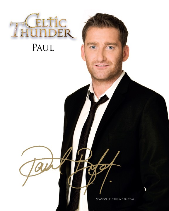 CELTIC THUNDER PAUL BYROM PHOTO CARD