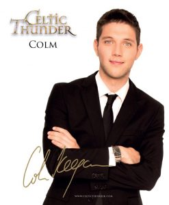 CELTIC THUNDER COLM KEEGAN PHOTO CARD