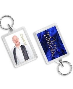 CELTIC THUNDER GEORGE KEYCHAIN