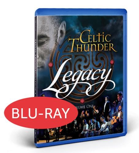 LEGACY  BLUE RAY DVD