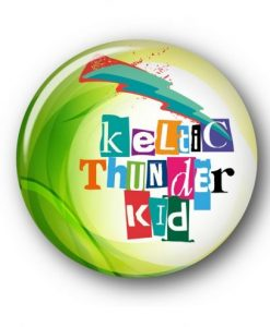KELTIC KID JUMBO PIN / BADGE