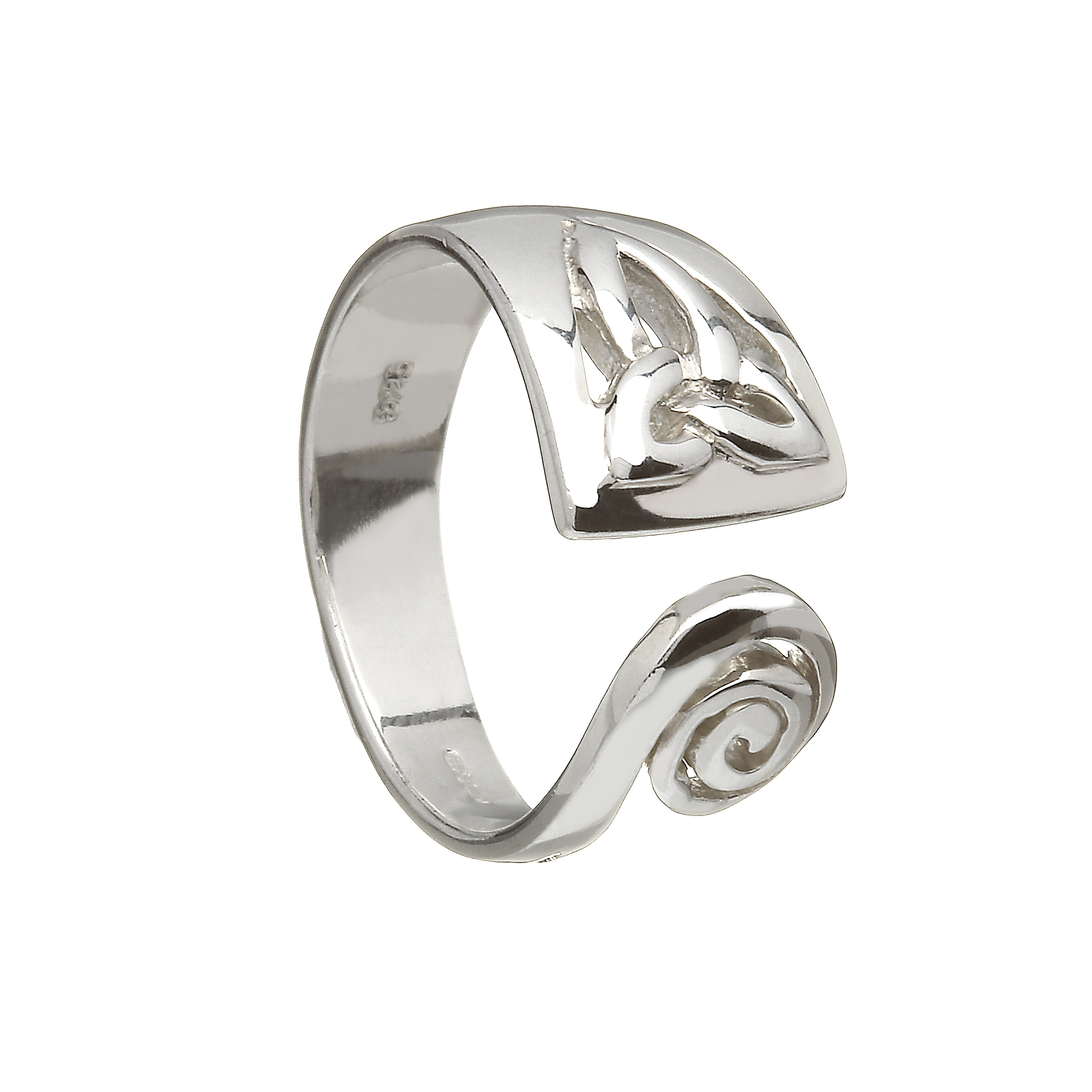 CELTIC SPIRAL RING