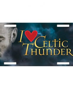 I LOVE CELTIC THUNDER LICENCE PLATE
