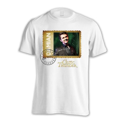DAMIAN MC'GINTY WHITE TOUR SHIRT