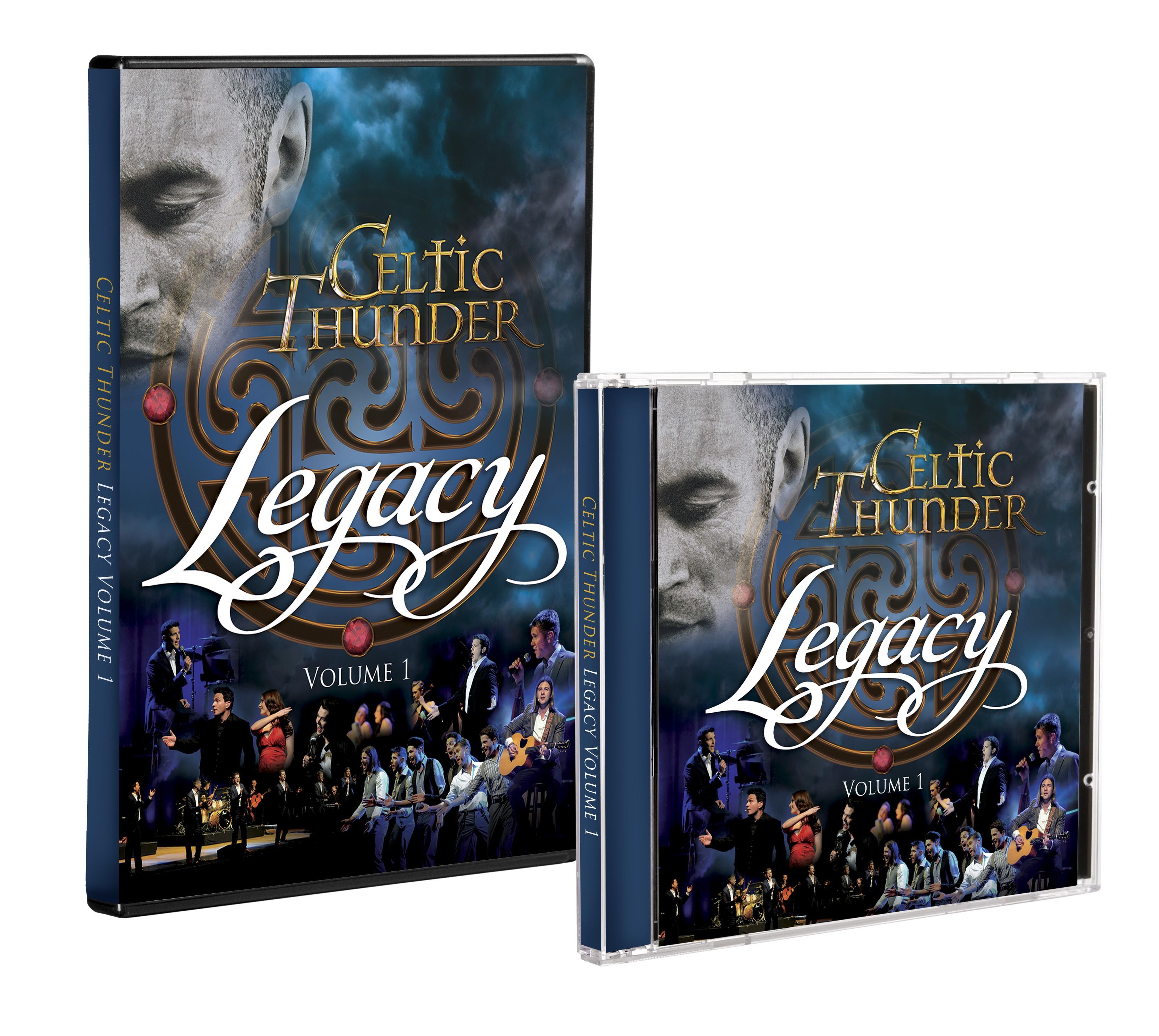 LEGACY VOLUME 1 CD & DVD VALUE BUNDLE