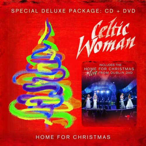 CELTIC WOMAN HOME FOR CHRISTMAS CD & DVD BUNDLE