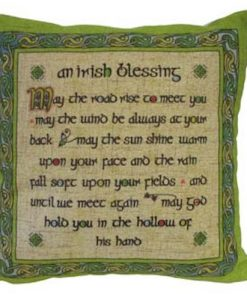 IRISH BLESSING CUSHION COVER