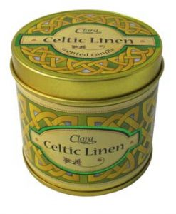 Celtic Linen Fragrant Travel Candle