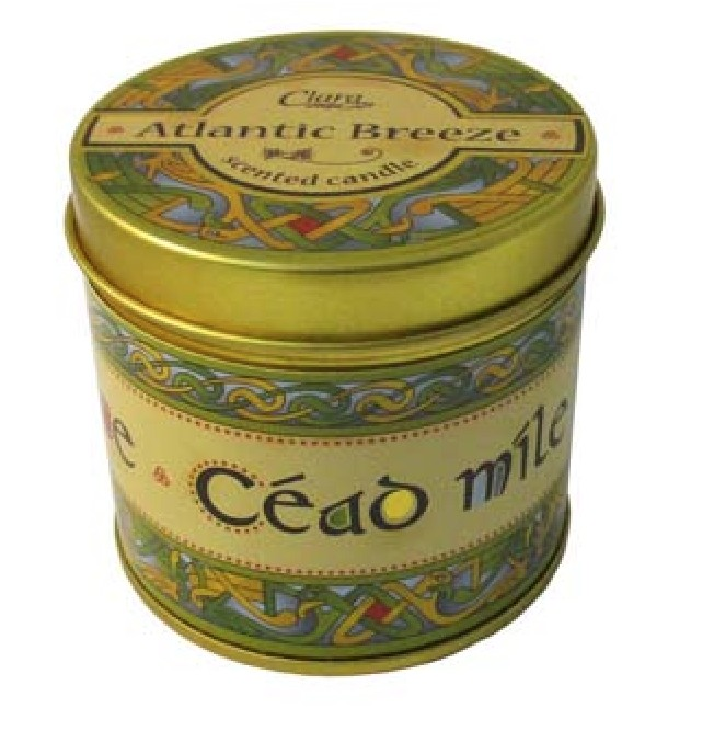 Atlantic Breeze Fragrant Travel Candle