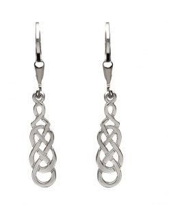 FILIGREE EARRINGS STERLING SILVER