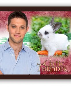 Celtic Thunder Pets Mouse Mat - Colm Keegan