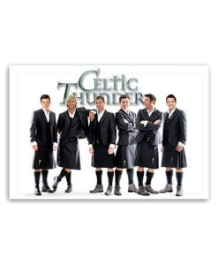 Celtic Thunder Jumbo Magnet  Men in Kilts """"