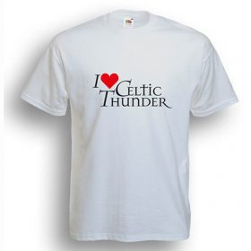 I Love Celtic Thunder T-Shirt White