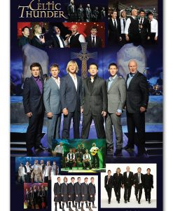 Celtic Thunder Group Poster