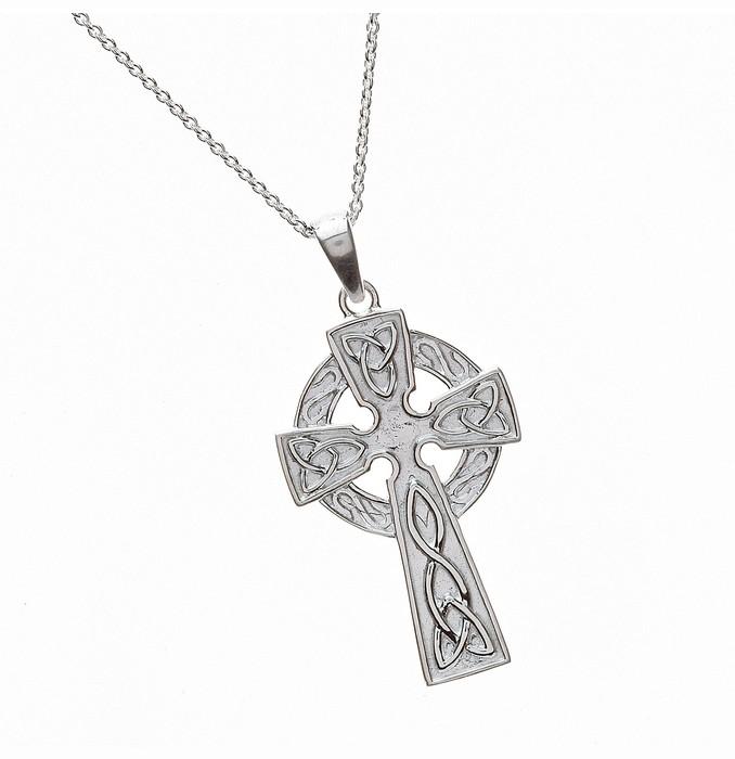 Large Celtic Mythology Cross