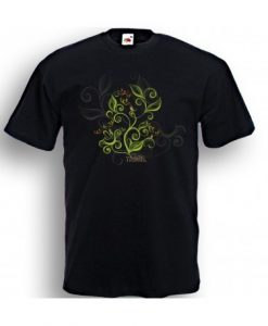VINE &  SONGBIRD FILIGREE  TEE SHIRT