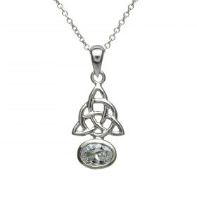 Sterling Silver Celtic Knots Pendant