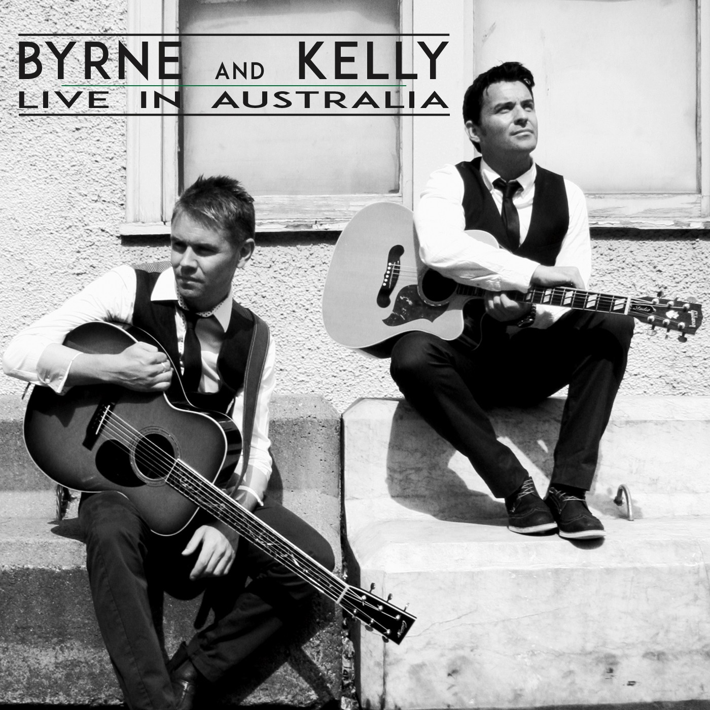 "Byrne & Kelly "" Live In Australia "" * Hand Signed *"