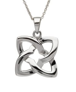 Celtic Knot Square Pendant