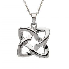 Celtic Knot Square Pendant