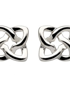 Celtic Knot Square Earrings