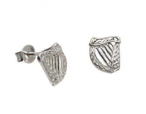 Celtic Harp Earrings