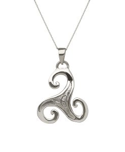 Celtic Spiral Pendant