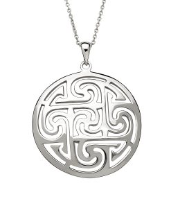 Sterling Silver Legacy Knot Pendant