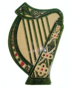 Irish Harp Wall Plaque
