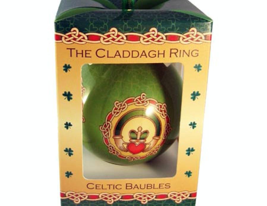 Claddagh Ring Love, Loyalty & Friendship Bauble
