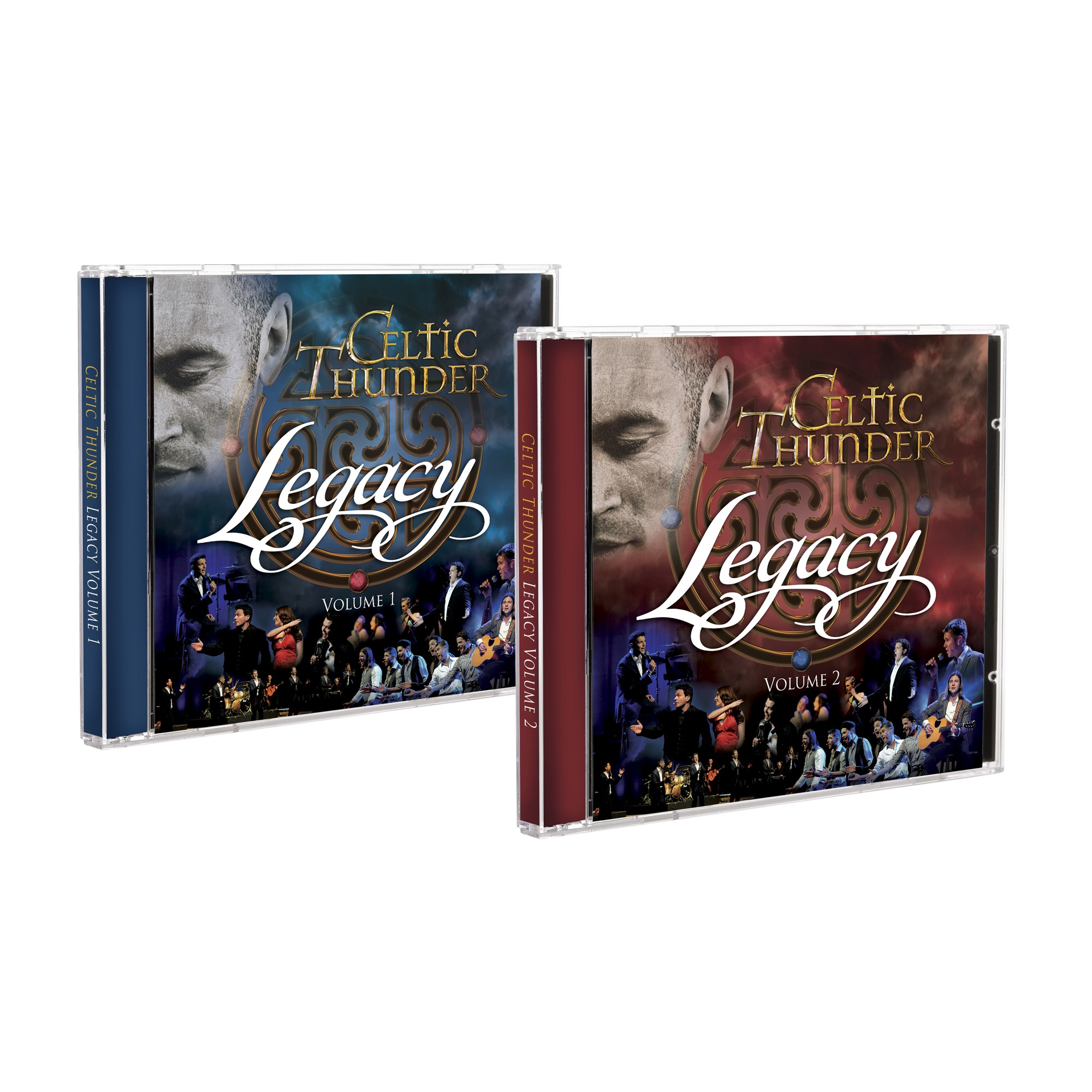 Legacy Volume One & Two Cd Pack