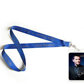 Ryan Signed Laminate & Lanyard