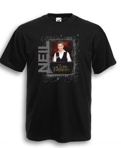 NEIL BYRNE BLACK FRAME TEE SHIRT