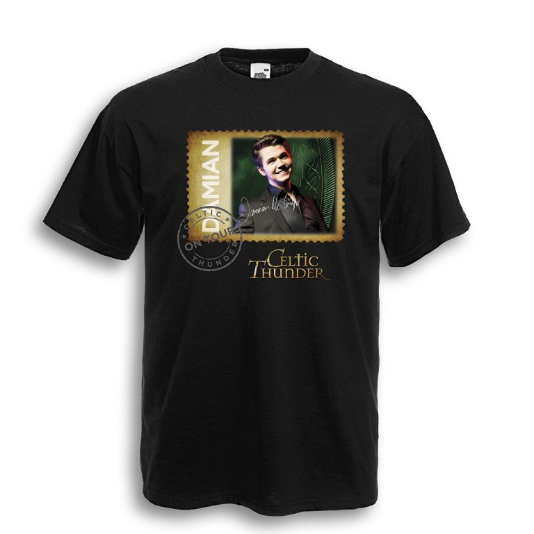 Damian Mcginty Black Tour Shirt