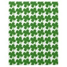 Shamrock Design Playing Cards