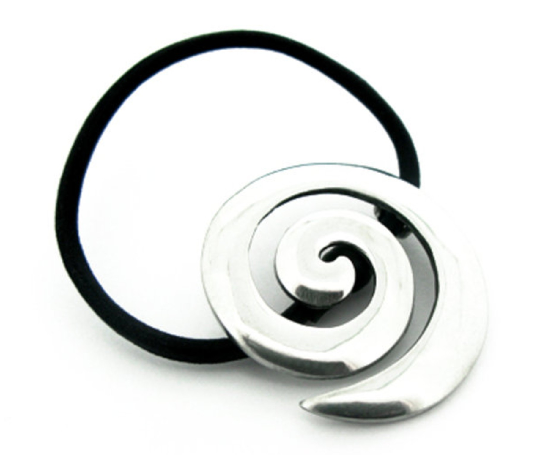 Irish Celtic Spiral Hair Bobbin