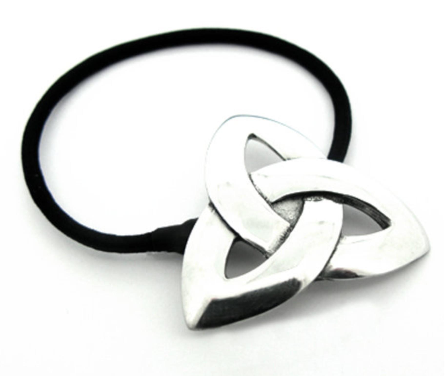 Irish Trinity Knot Hair Bobbin