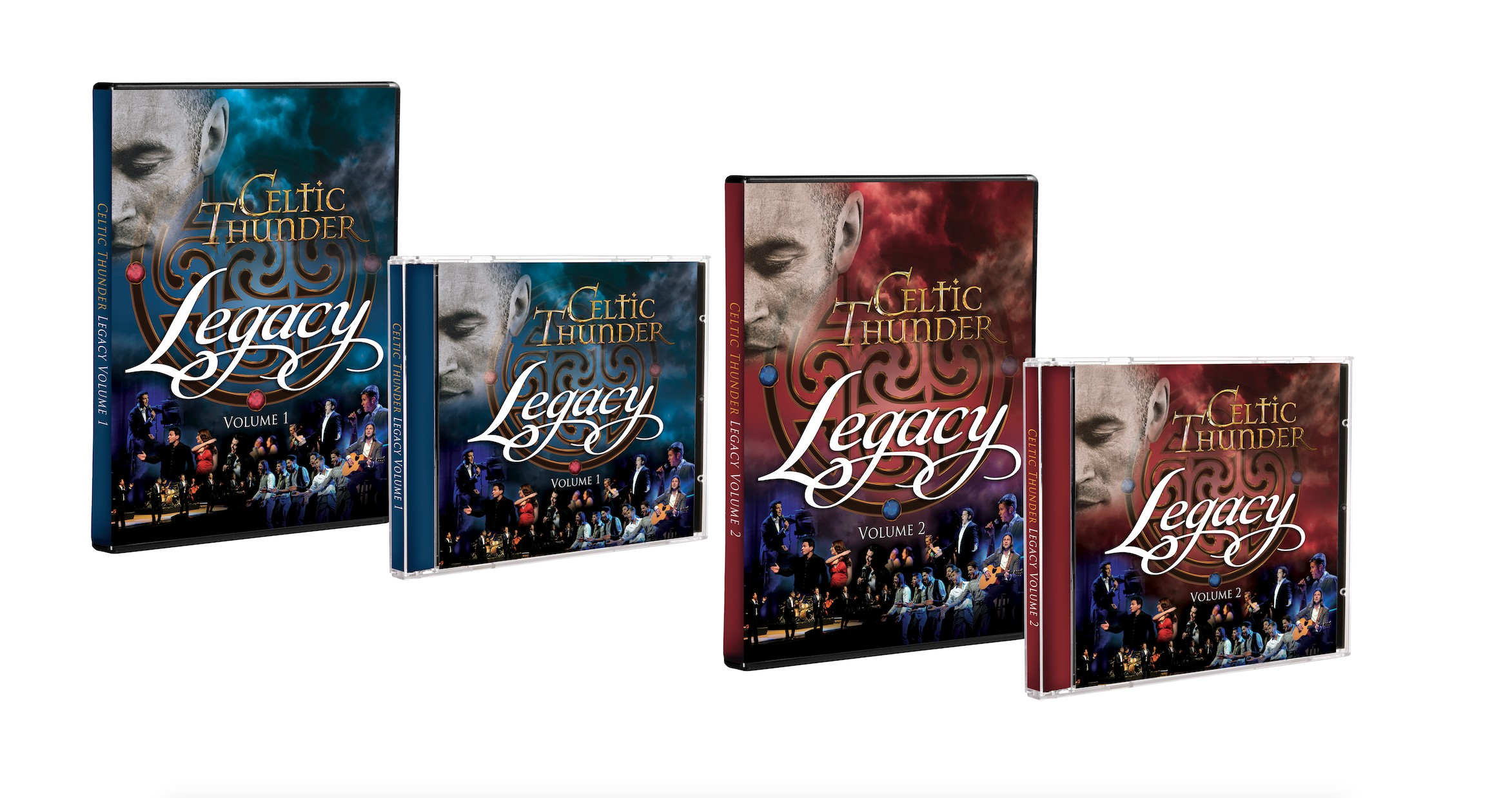 Legacy Volume One & Two Cd & Dvd Bundle