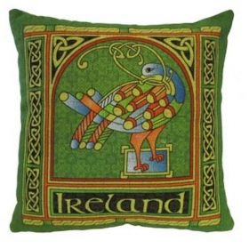Celtic Peacock Cushion Cover