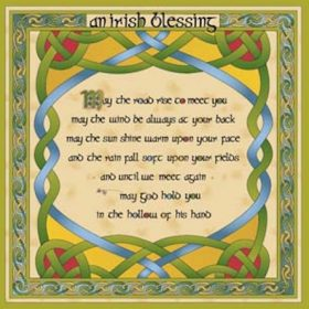 20 Irish Blessing Table Napkins