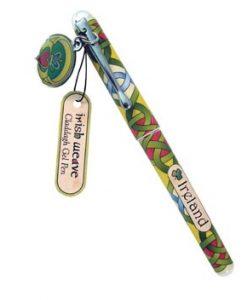 Claddagh Gel Pen With Claddagh Charm