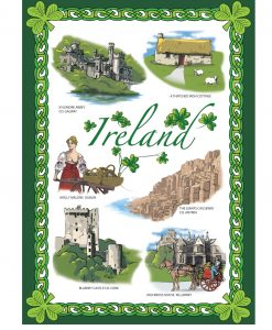 Images Of Ireland Tea Towel