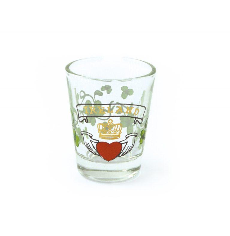 Claddagh Shot Glass