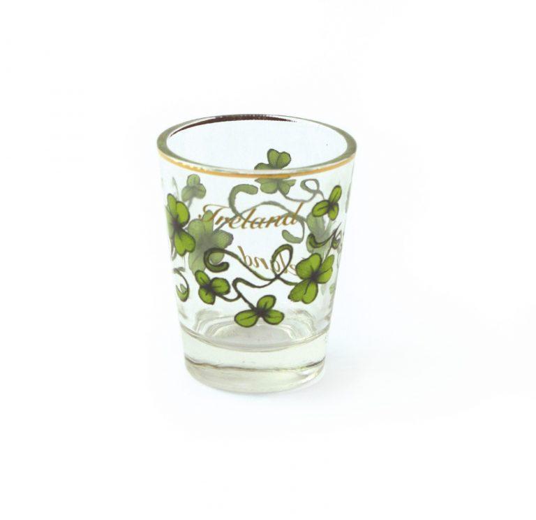 Shamrock Shot Glass