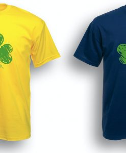 Crayon Drawn Shamrock 2 For 1 Offer