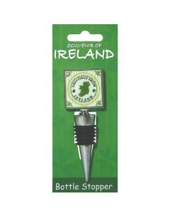 Greeting From Ireland Wine Bottle Stopper